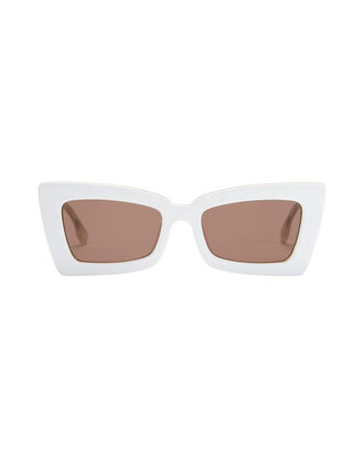 Zaap White Sunglasses, WHITE, hi-res