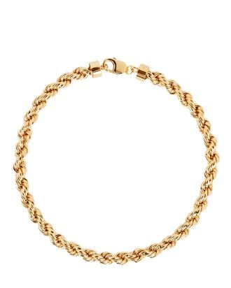 XXL Rope Chain Necklace, GOLD, hi-res