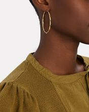 Francisca 45 Twisted Hoop Earrings, GOLD, hi-res