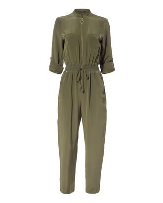 Harrison Jumpsuit, OLIVE/ARMY, hi-res