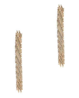 Volutta Drop Earrings, GOLD, hi-res