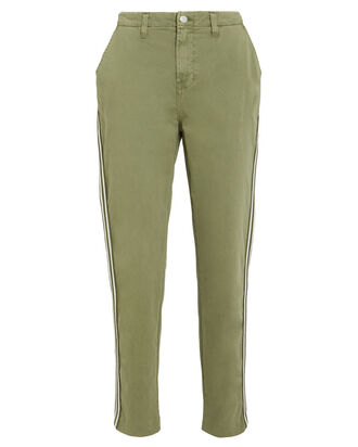 Jem Brigade Denim Trousers, ARMY GREEN, hi-res