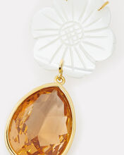 Lily Pad Earrings, AMBER, hi-res