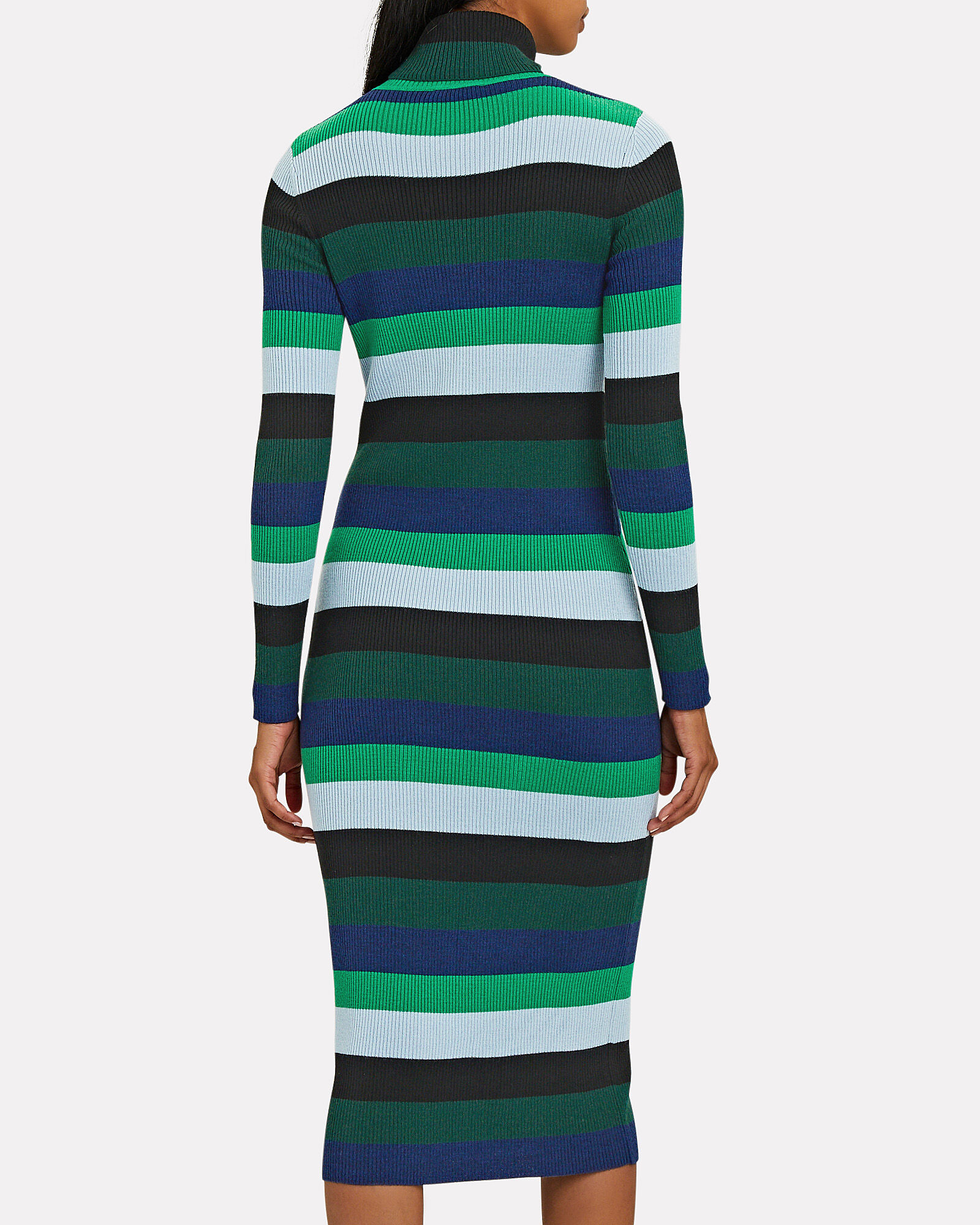 Lisa Striped Knit Midi Dress, MULTI, hi-res