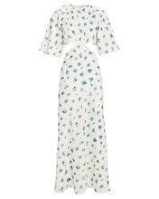 Fleur Voile Cut-Out Dress, MULTI, hi-res