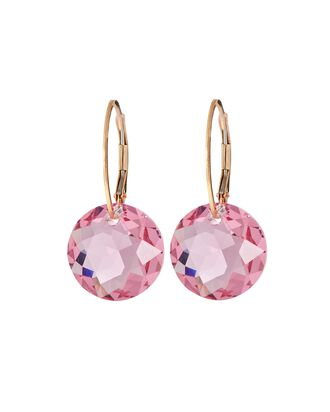 Gem Drop Earrings, PINK, hi-res