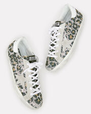 Superstar Leopard Glitter Low-Top Sneakers, GREY/WHITE, hi-res