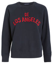 De Los Angeles Sweatshirt, NAVY, hi-res