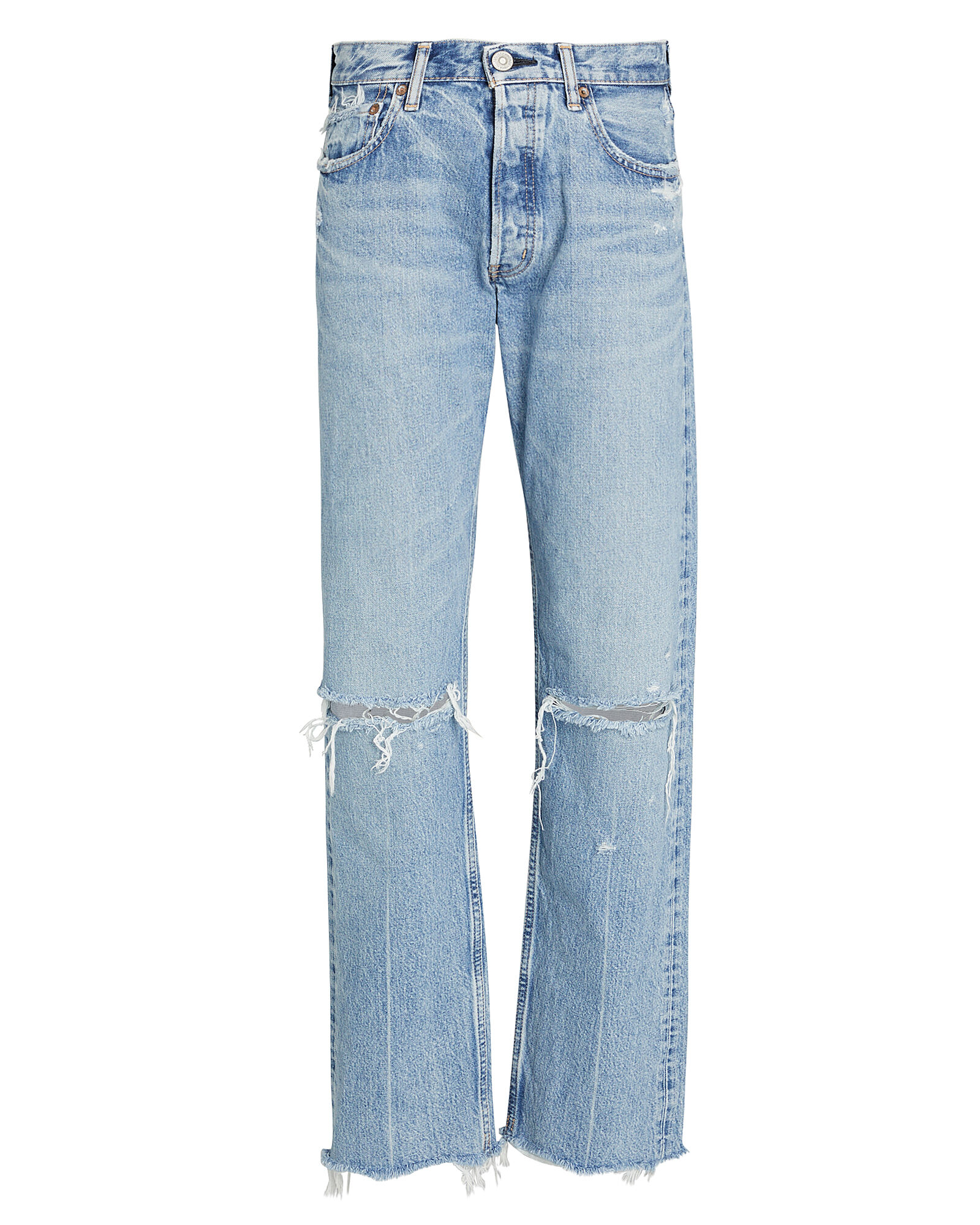 Viola Wide Straight-Leg Jeans, LIGHT WASH DENIM, hi-res
