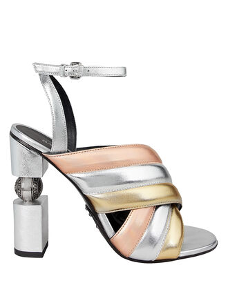 Jana High Sandals, SILVER/GOLD/ROSE GOLD, hi-res