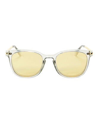 Platonist Gold Phantom Mirror Sunglasses, GOLD, hi-res