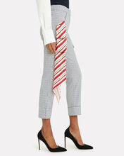 Beaton Red Scarf Checked Pants, MULTI, hi-res