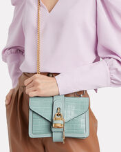 Small Aby Lock Bag, AQUA, hi-res