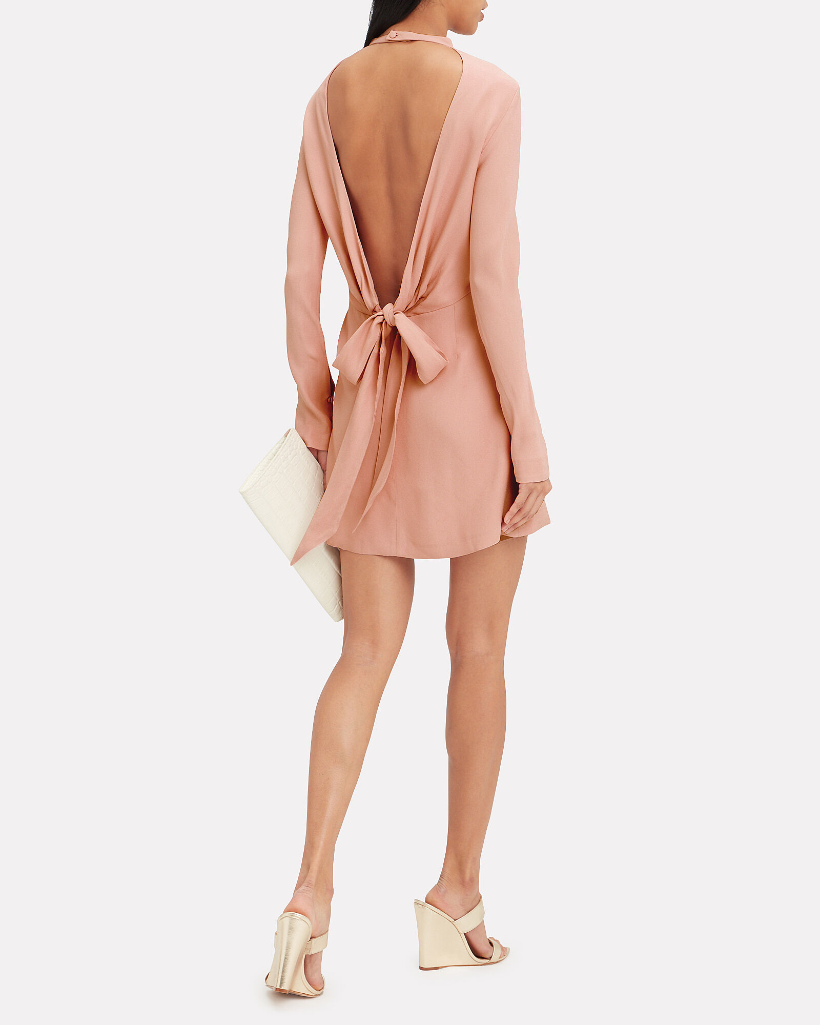 Billie Mini Dress, PINK, hi-res