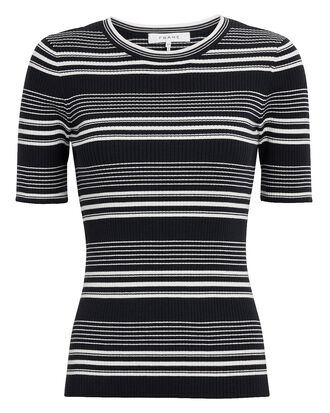 Striped Knit Top, NAVY/STRIPES, hi-res