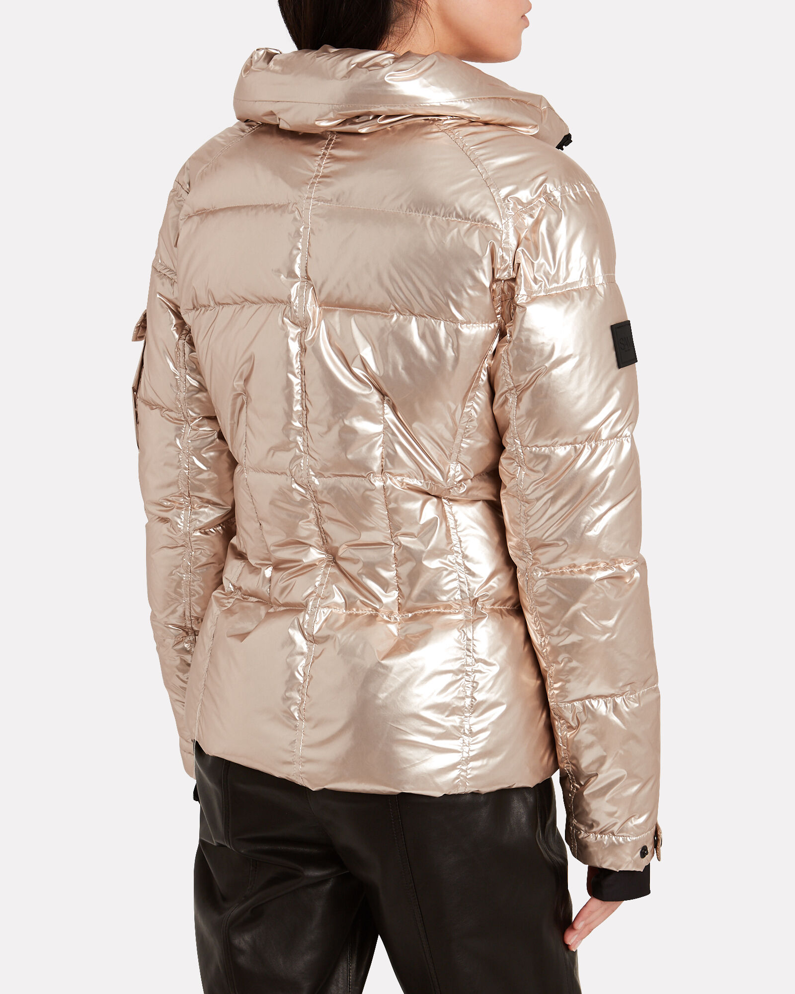 Freestyle Down Puffer Jacket, GOLD, hi-res