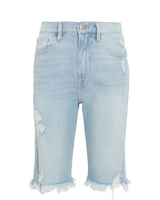 Le Vintage Bermuda Shorts, LIGHT WASH DENIM, hi-res