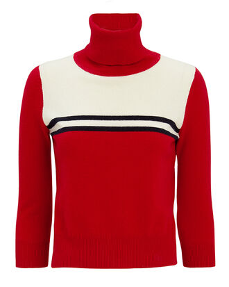 Alice Turtleneck Sweater, RED/IVORY/BLACK, hi-res