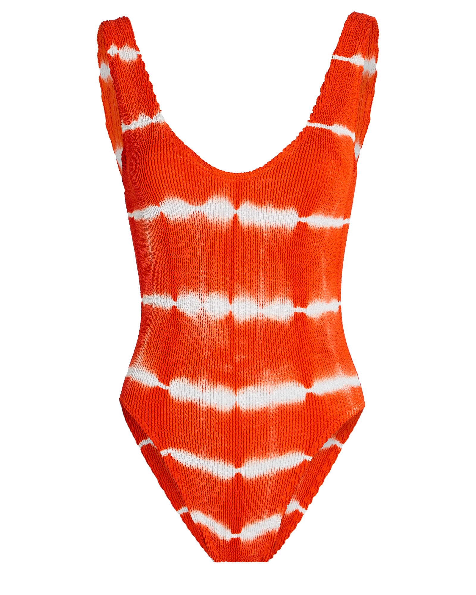 Mara One-Piece Tie-Dye Swimsuit, ORANGE, hi-res