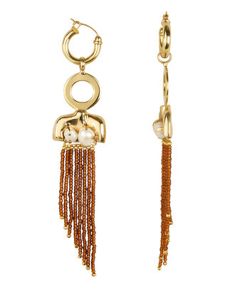 Barbosa Large Toros Earrings, GOLD, hi-res