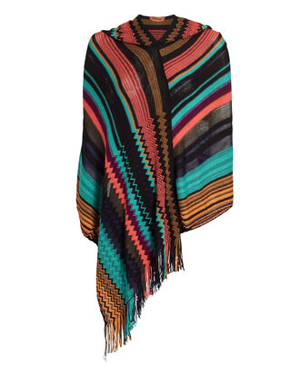 Multicolor Poncho, MULTI, hi-res
