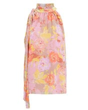 Valencia Floral Crepe Sleeveless Top, PINK/FLORAL, hi-res