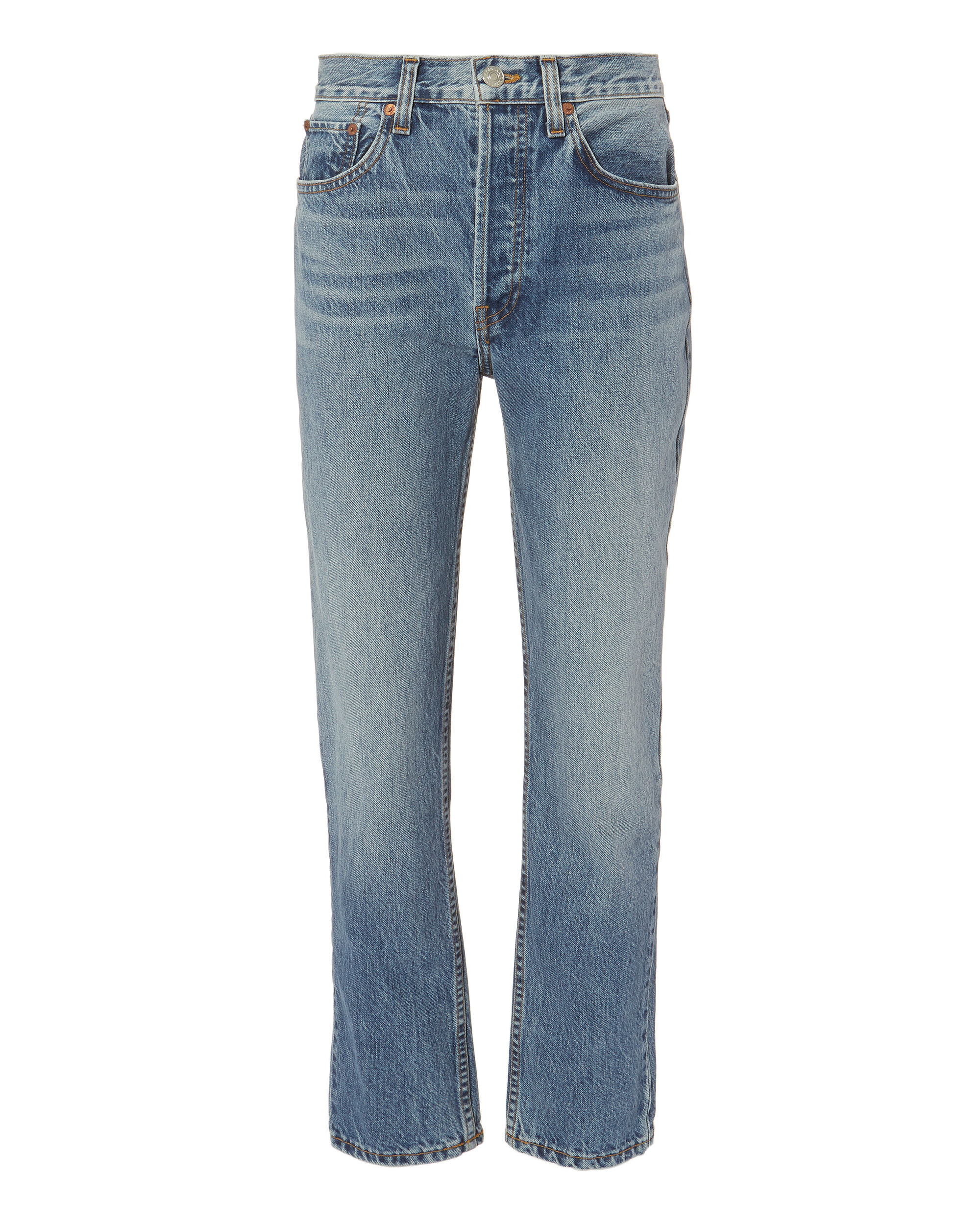 High-Rise Relaxed Jeans, DENIM, hi-res