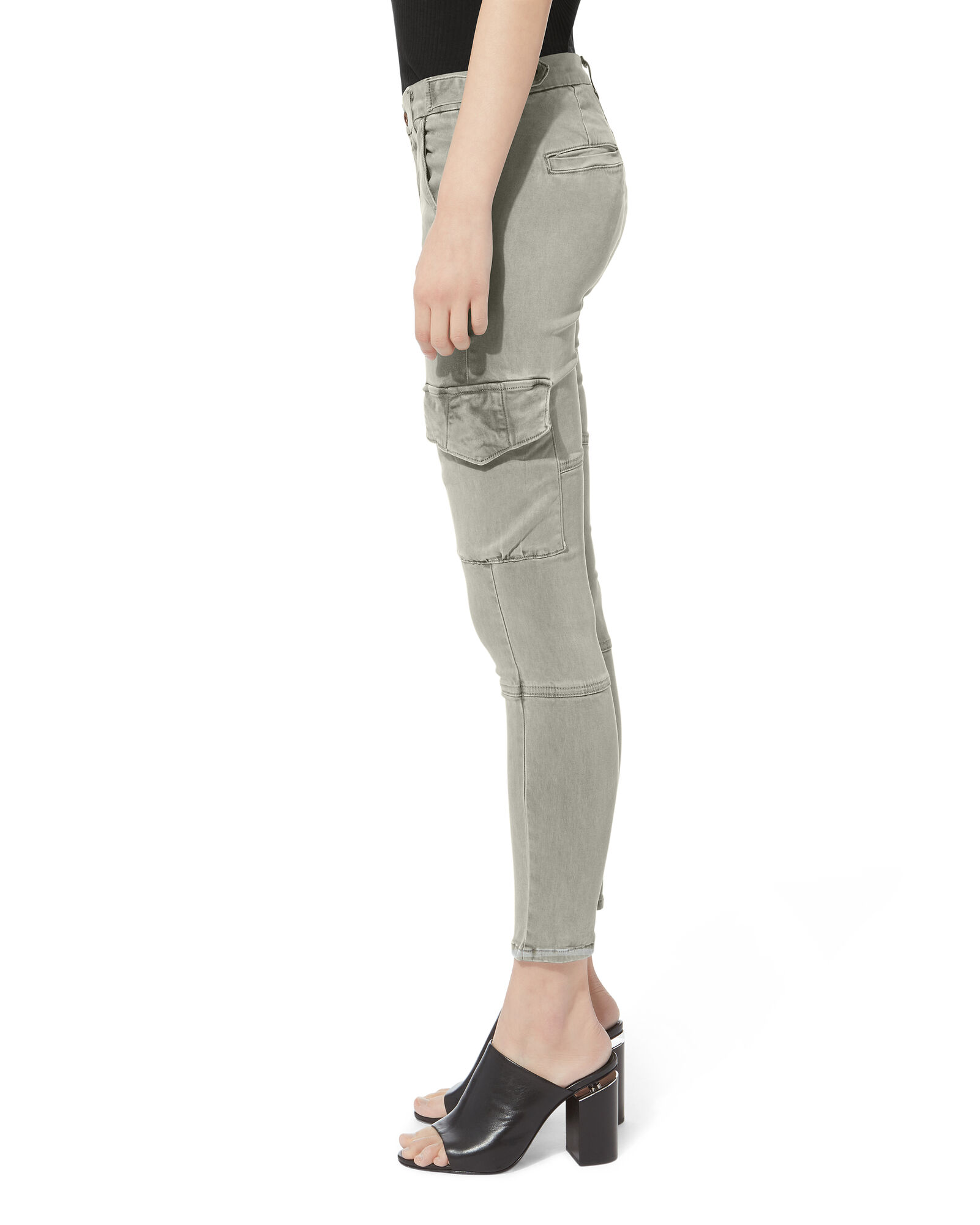Vincent Stretch Cargo Pants, OLIVE/ARMY, hi-res