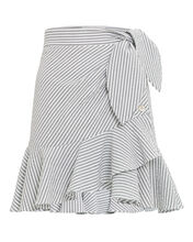 Kaia Ruffle Mini Skirt, GREY-LT, hi-res