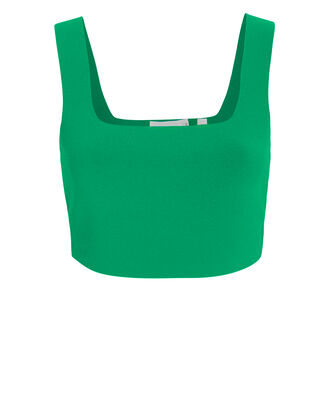 Vicky Crop Top, KELLY GREEN, hi-res