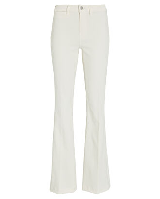Joplin High-Rise Flared Jeans, WHITE, hi-res