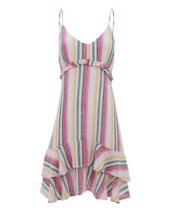 Martina Avila Stripe Dress, MULTI, hi-res