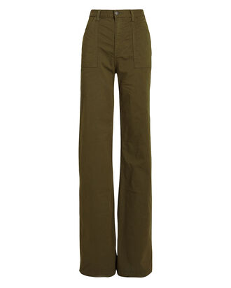 Crosbie High-Rise Wide Leg Jeans, ARMY, hi-res