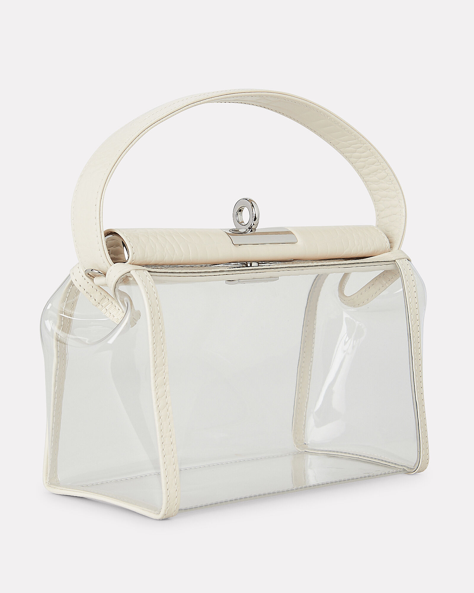 Water Translucent Shoulder Bag, CLEAR, hi-res