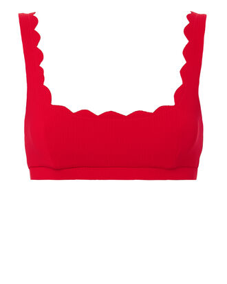 Mini Palm Springs Bikini Top, RED, hi-res