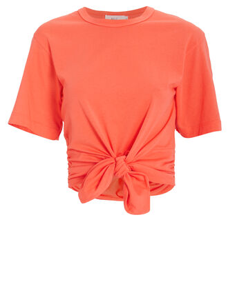 Gemma Tie T-Shirt, ORANGE, hi-res