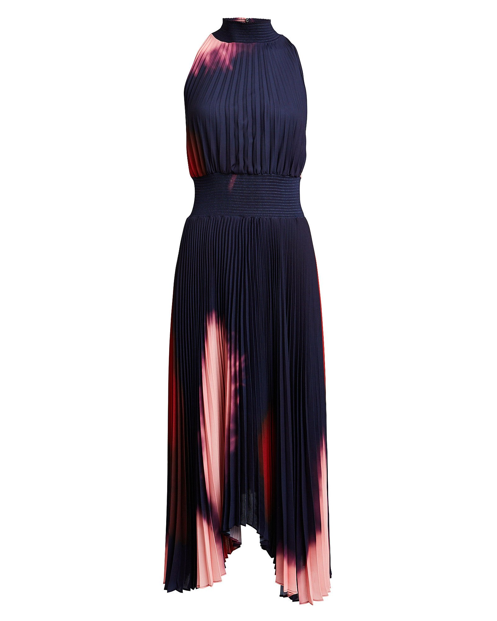 Renzo Ombré Tie-Dye Dress, MIDNIGHT/OMBRE, hi-res