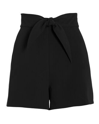 Kerry Bow Shorts, BLACK, hi-res
