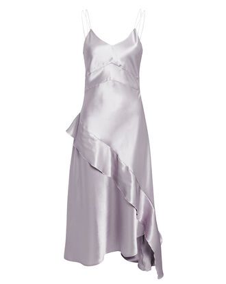 Fischer Asymmetric Dress, SILVER, hi-res