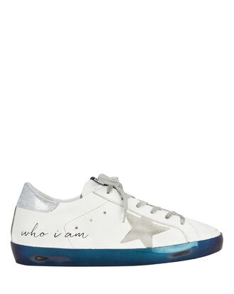 Superstar Navy Bottom Low-Top Sneakers, WHITE, hi-res
