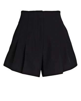 Garcia High-Rise Shorts, BLACK, hi-res