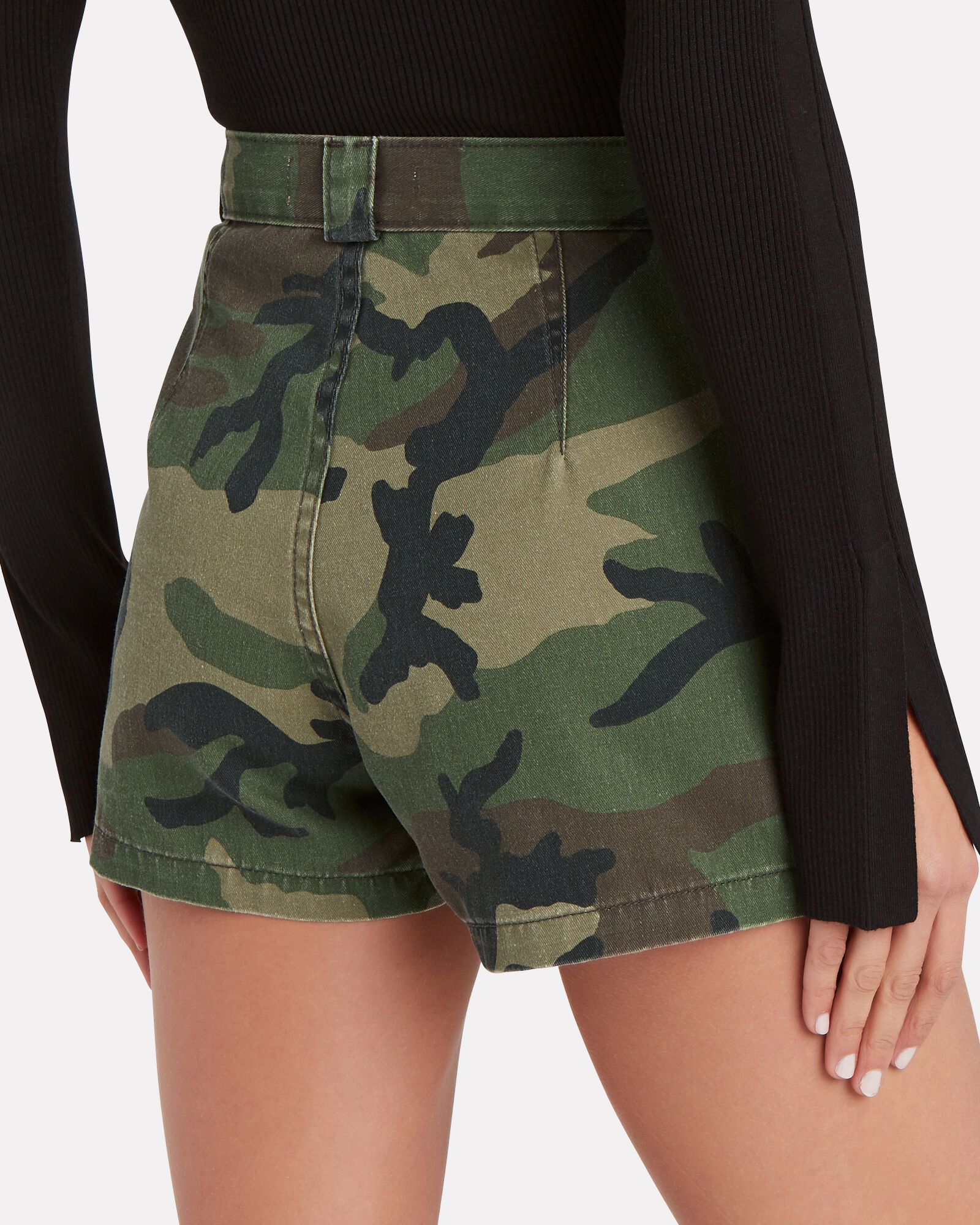 Lucy Camouflage Cargo Shorts, MULTI, hi-res