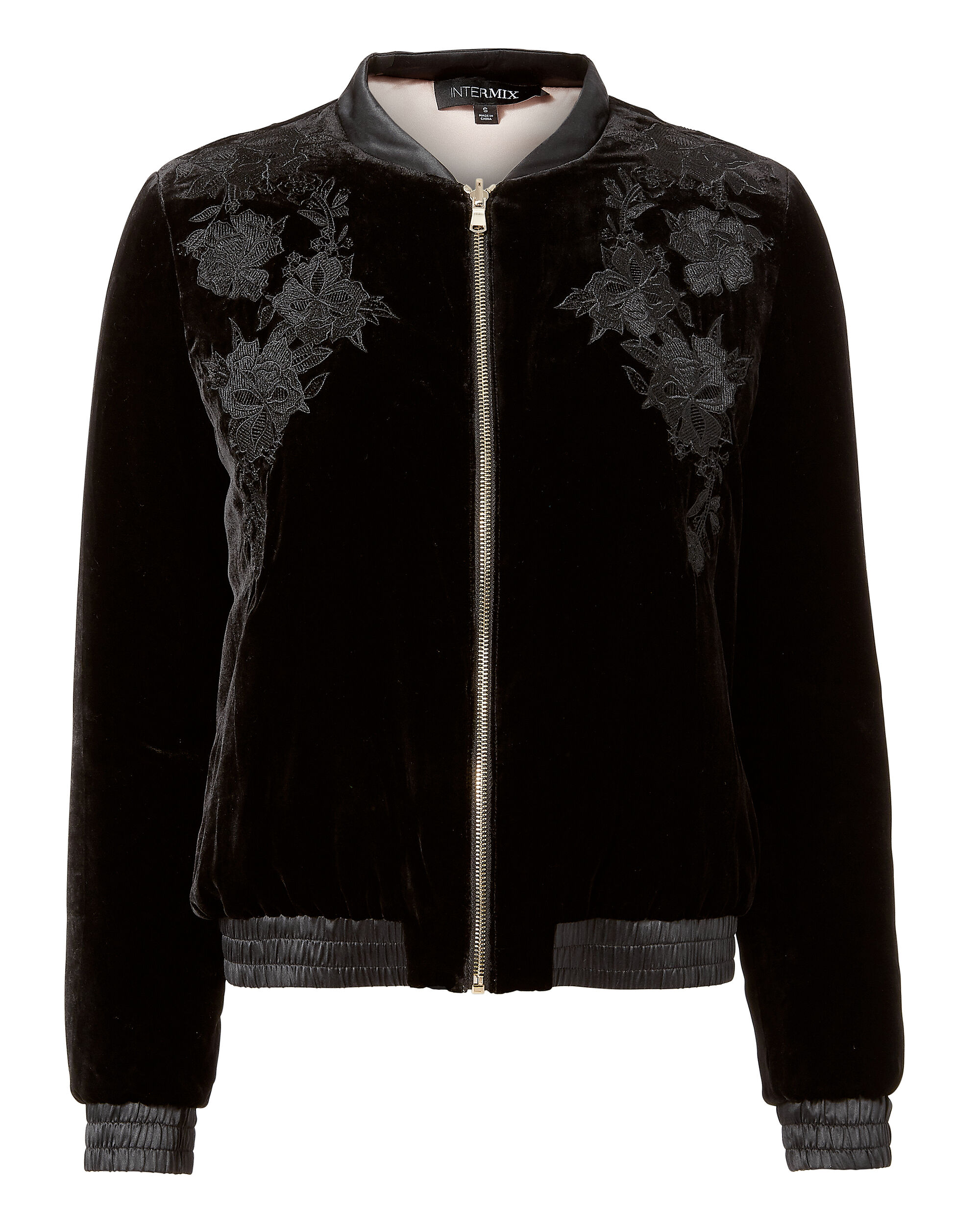 Bailey Reversible Bomber Jacket, BLACK, hi-res