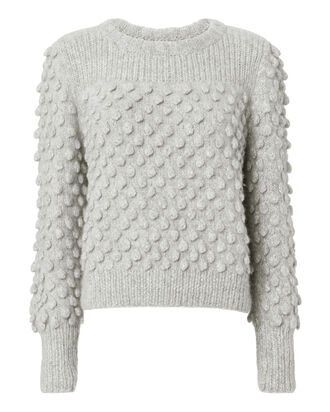 Camilla Pom-Pom Sweater, GREY, hi-res