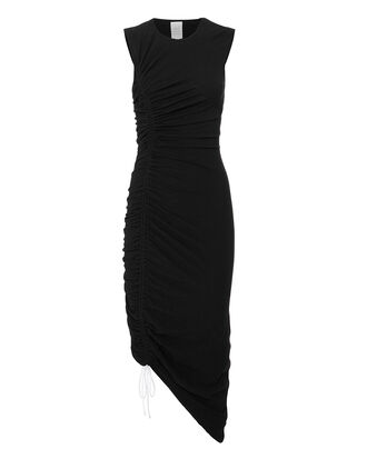 Cora Midi Dress, BLACK, hi-res