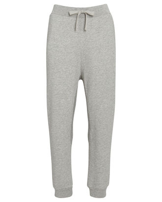 Easy Cotton Terry Joggers, GREY, hi-res