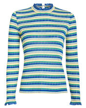 Angelica Striped Jersey Top, MULTI, hi-res