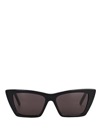 Mica Cat Eye Sunglasses, BLACK, hi-res