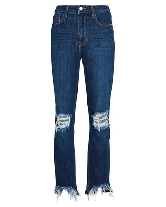 High Line Distressed Skinny Jeans, MONROVIA, hi-res