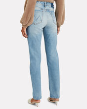 Rider High-Rise Straight-Leg Jeans, GIVE IT UP, hi-res
